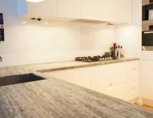 Modernt kök marmor