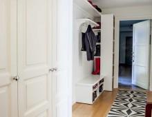 Garderob i Vasastan